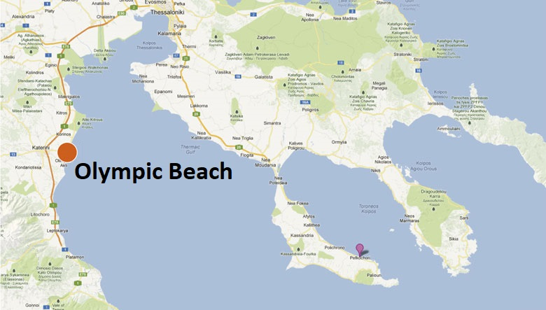 Olympic Beach Leto 2020 Hellenatravel